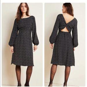 NWT - ANTHROPOLOGIE - Agatha Midi Dress - size 4